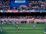 Football Match at Stadio San Paolo  Naples  Italy