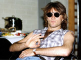 Jon Bon Jovi American Pop Singer for Band Bon Jovi in Germany
