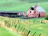 Historic Barn in Wallowa County  Oregon  USA