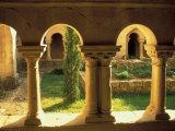 Cloisters  Ganagobie Abbey  France