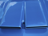 Close-up on Muscle Car Vent