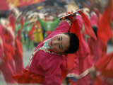 Children Celebrating Chinese New Year  Beijing  China