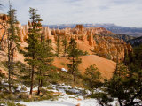 A View into the Bryce Canyon Amphitheater  Bryce Canyon National Park  Utah