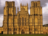 The West Front of Wells Cathedral  United Kingdom