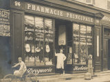 The Exterior of a Chemist&#39;s Shop Most Probably in Paris