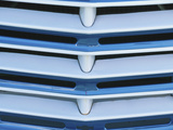 Close-up of Car's Front Grill
