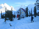 A Skier Returns to a Back-Country Lodge