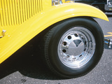 Tire on Antique Car