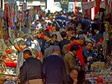 Sunday Market Crowds  Beijing  China