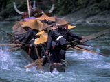 Dragon Boat Race at Miao People's Festival  China