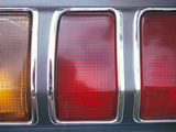 Red and Orange Tail Lights