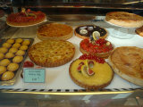 Desserts in Patisserie Window  Paris  France
