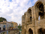 Roman Amphitheatre and Shops  Arles  Provence  France