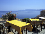 Outdoor Restaurant  Monemvasia  Greece