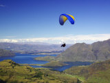 Paraglider  South Island  New Zealand