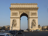 The Arc De Triomphe in Paris  France