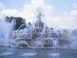 Basin of Latona Fountain at the Palace of Versailles