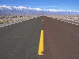 Highway 136 Heading Toward Lone Pine  CA