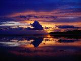 Sunset at Korolevu Bay on the Coral Coast  Korolevu  Fiji
