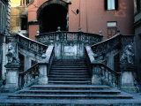 Marble Renaissance Staircase in Spoleto  Spoleto U mbria  Italy