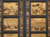 Gates of Paradise Baptistry Florence Italy