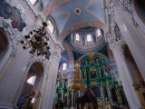 Interior of the Russian Orthodox Church of the Holy Spirit  Vilnius  Lithuania