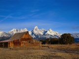 Shanes Barn  Grand Teton National Park  WY