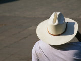 Mexican Man Wearing a Cowboy Hat