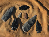 Indian Arrowheads in the Sand