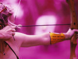 Female Archer Taking Aim