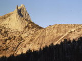 Cathedral Peak and a Clear Sky