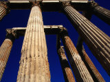 Corinthian Columns of the Temple of Olympian Zeus in the Olympieion  Athens  Attica  Greece