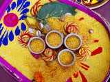 Rice Presented for Pre-Wedding Hindu Ritual  Kolkata  India