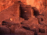 Pueblo Bonito at Sunset  Chaco Culture National Historical Park  USA