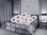 Daisies and Butterflies in the Bedroom
