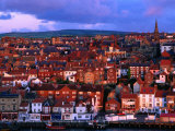Town Buildings at Dawn  Whitby  North Yorkshire  England