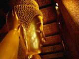 Reclining Buddha of Wat Pho Bangkok  Thailand