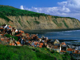 Robin Hood Bay  North York Moors National Park  England