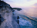 The White Cliffs of Cape Santa Maria on Long Island  Long Cay  Acklins & Crooked Islands  Bahamas