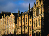 Facades of Buildings on Victoria Terrace  Edinburgh  United Kingdom