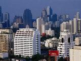 Skyline from Sukhumvit  Bangkok  Thailand