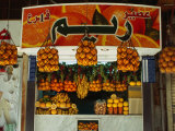 Fruit Juice Stand  Damascus  Syria