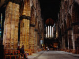 Interior of Glasgow Cathedral  Glasgow  United Kingdom