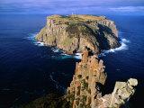 Tasman Island from Cape Pillar in Tasman National Park  Tasman Peninsula  Tasmania  Australia