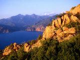 Les Calanques  Rocky Inlets Towering 400 Metres Above Golfe De Porto  Piana  Corsica  France