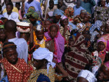 Crowds Gather in Celebration of the Kano Durbar Festival  Kano  Nigeria