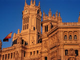 Palacio De Comunicaciones on Plaza De Cibeles Housing the Central Post Office  Madrid  Spain