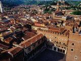 Rooftops of Town from Torre Dei Lamberti Verona  Veneto  Italy