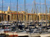 Sail Boats on Vieux Port (Old Harbour)  Marseille  France