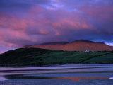 Stadbally and Bernoskee Mountains Seen from Clogbane  Dingle  Ireland